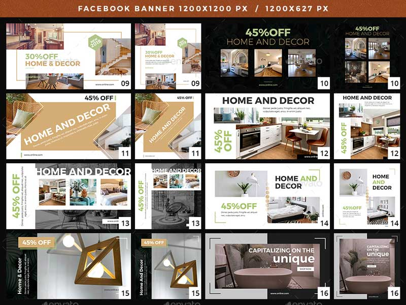 Facebook Home And Decor Banners 2