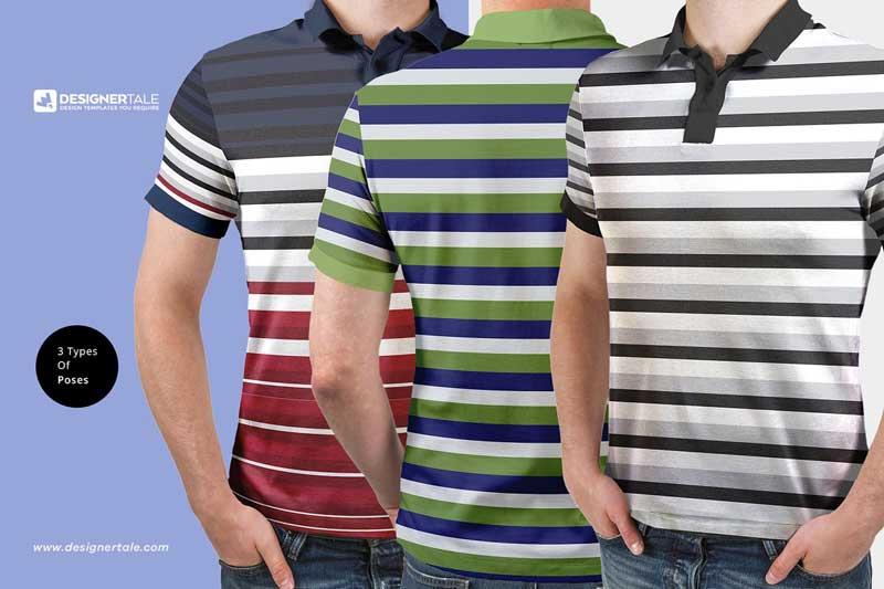 Polo T Shirt Mockup 2