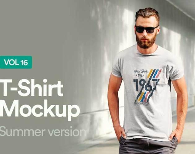 T Shirt Mockup Vol 16