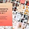 78 Presets Lightroom Bundle For Mobile and PC