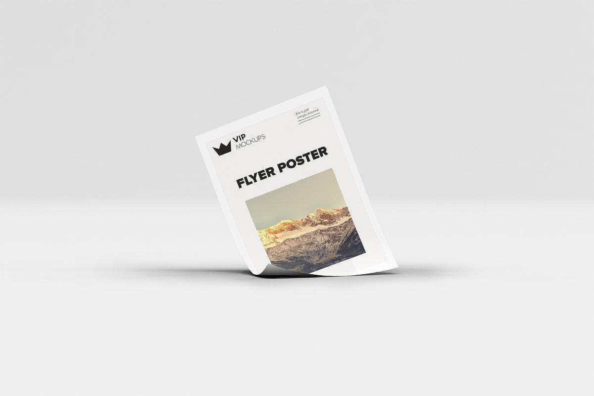 poster flyer mockups 4