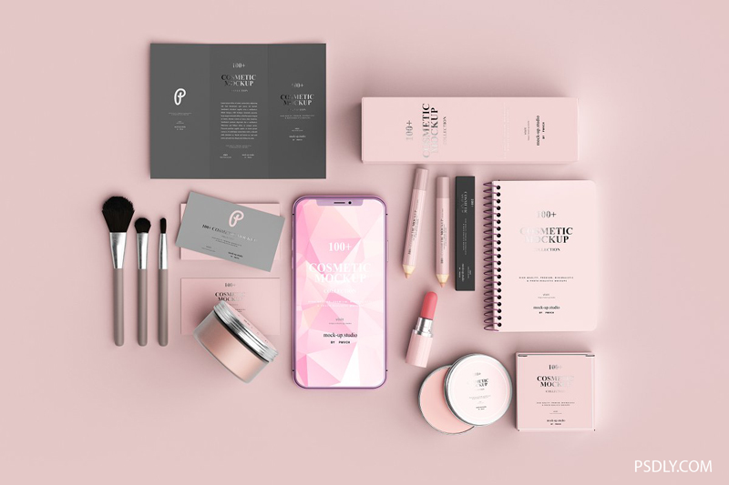 100252B Cosmetic Mockup Collection 2