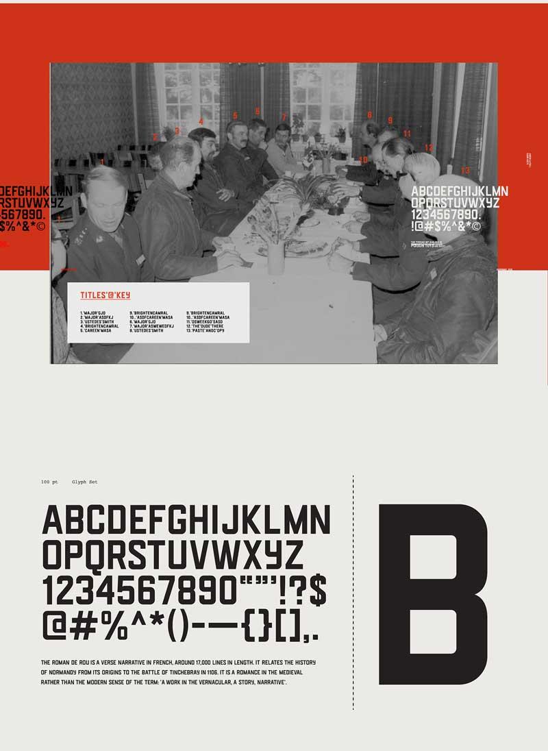 Brut Gothic Sans Serif Font Free Download