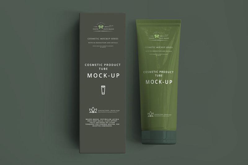 Cosmetic Tube Mockup 3054807 1