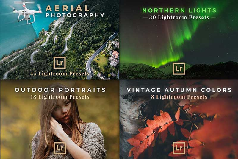 Creativemarket BUNDLE 29 Lightroom Preset Packs 924218 Free Now
