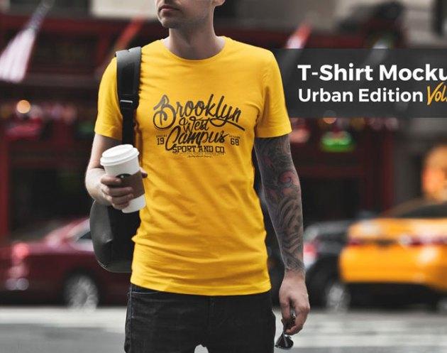 T shirt Mockup Urban Edition