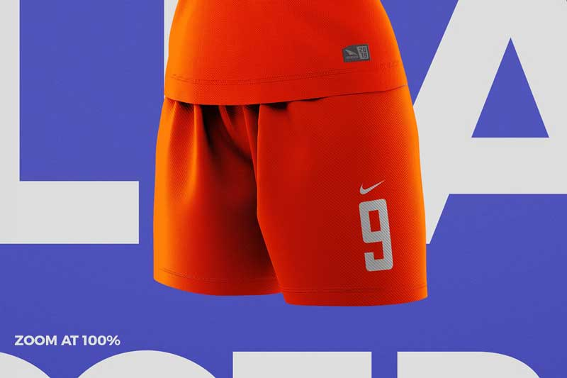 Women2527s Soccer Kit Mockup Angle 3
