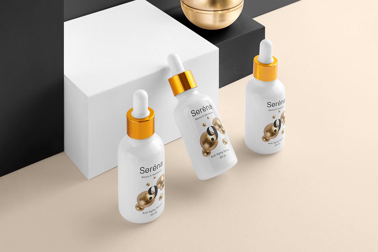 Serena - Cosmetics Branding Mock-ups Vol. 1