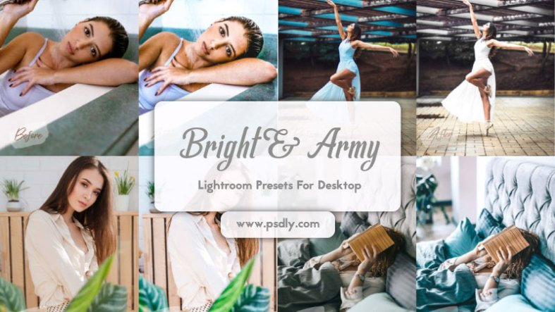 12 Lightroom Presets Bright and Airy ACR