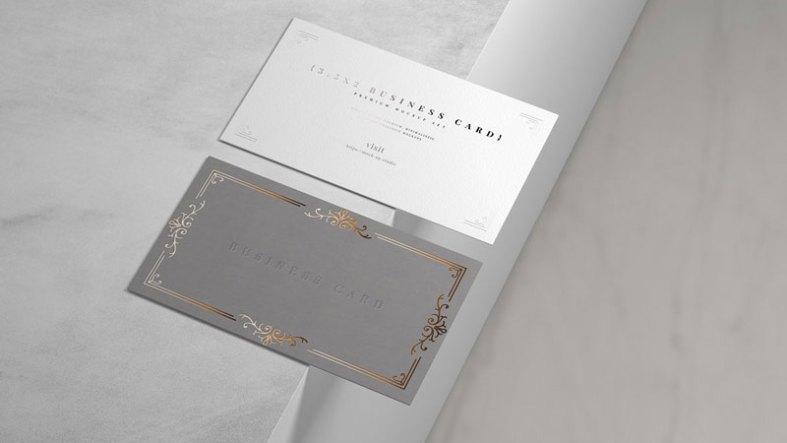 18x Business Card Mockups 4764539