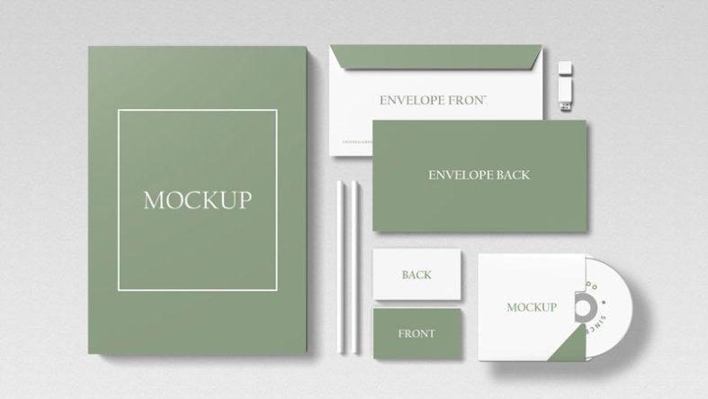 Branding Identity Set Mockup 1388278
