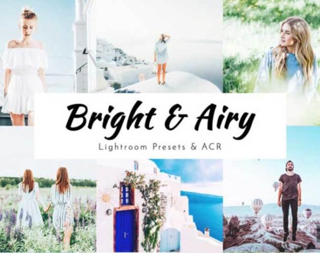 Bright 2526 Airy Lightroom Presets