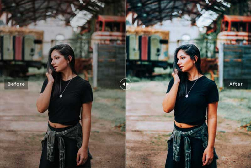 Esmeralda Lightroom Presets Pack