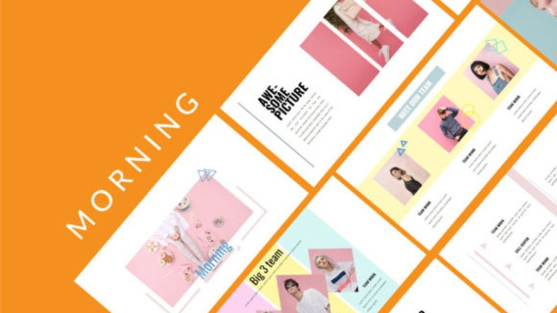 Fashion Morning Powerpoint Template