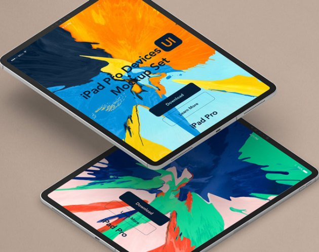 Perspective Psd iPad Pro Mockup