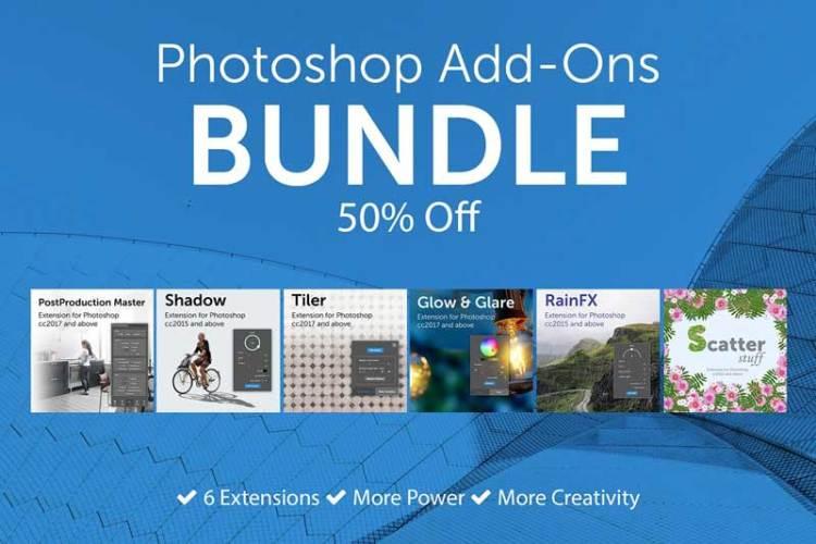 Photoshop Add Ons Bundle 4567219