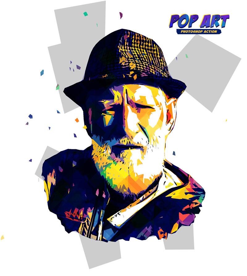 Pop Art Photoshop Action 26273254