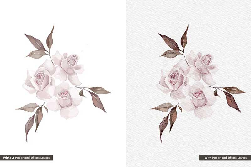 Realistic Procreate Watercolor Kit 4696269