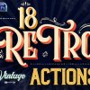 Vintage Text Photoshop Action 22770262