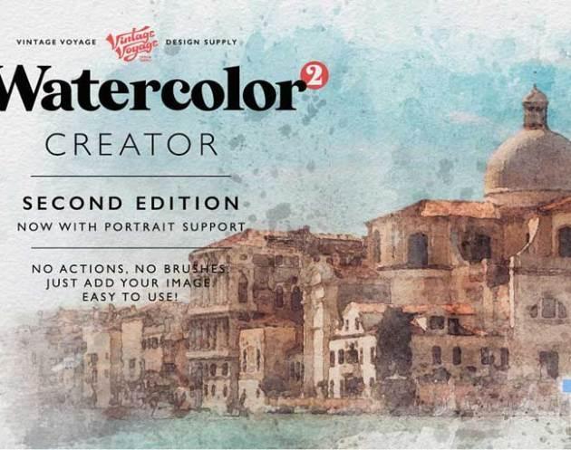 Watercolor Creator 25E2258025A2 Second Edition 3924431