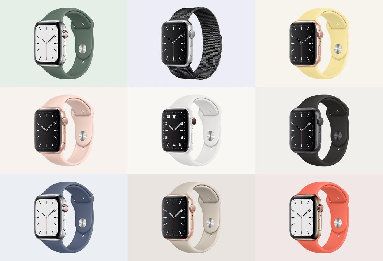 Apple Watch Mockup Series 5