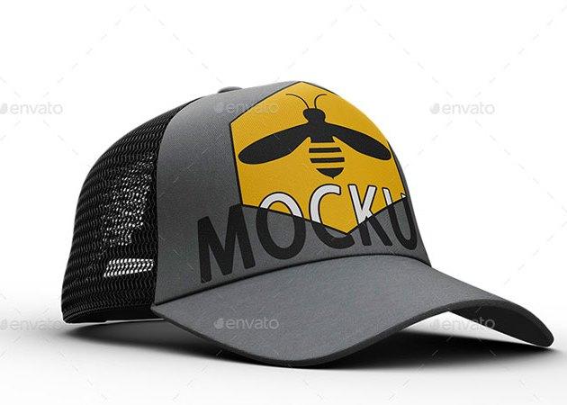 4 Cap Mockup 25625998 Free