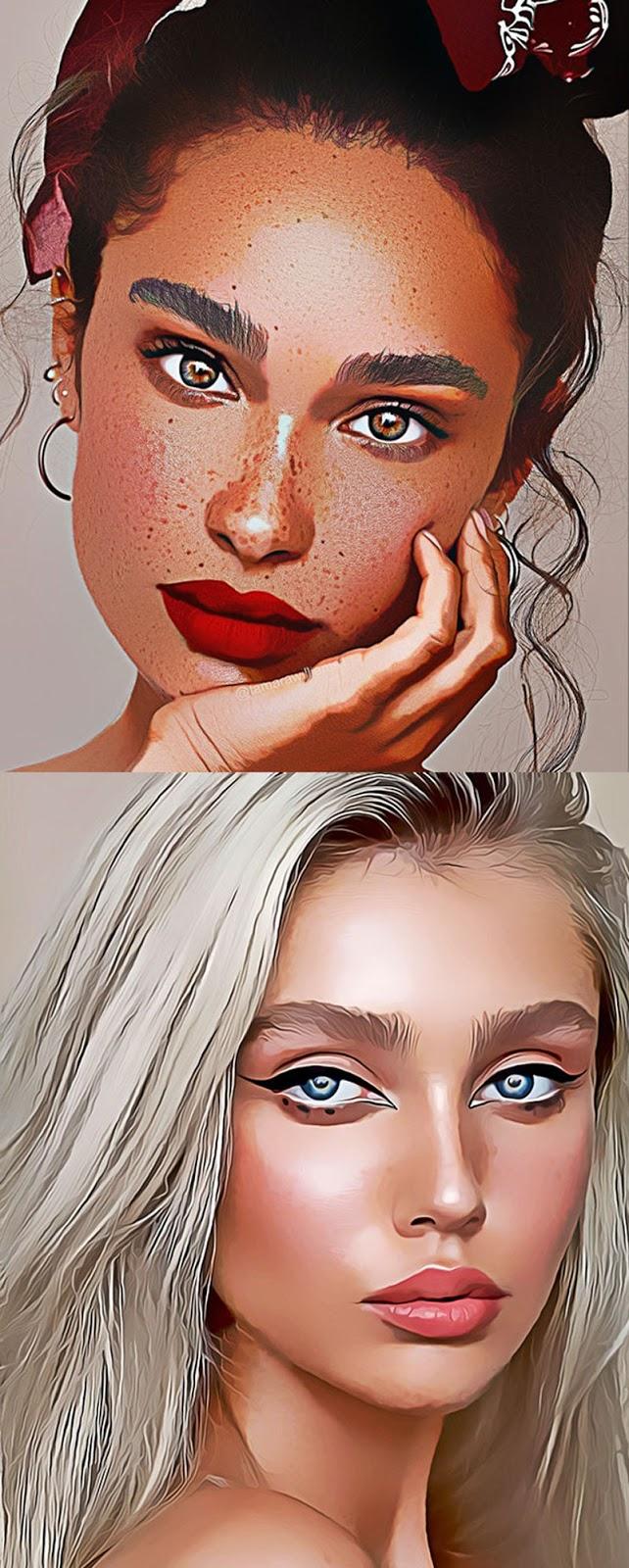 Cartooniz-painting Photoshop Action 25990817