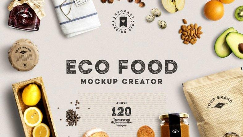 Eco Food Mockup Creator 1515954 Free