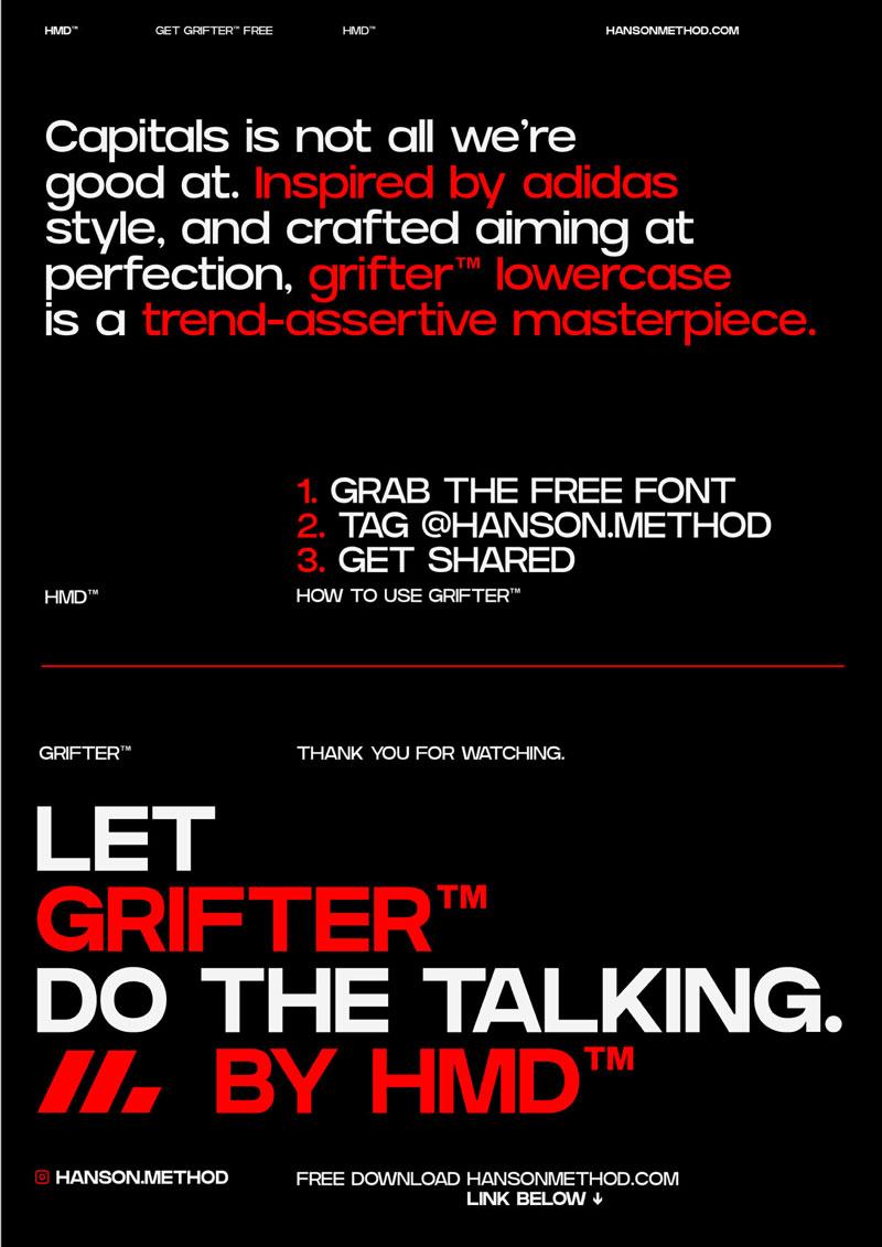 Grifter Bold - Strong Sans Serif Font