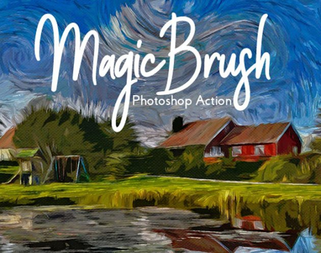 Magic Brush Painting Action 26535267