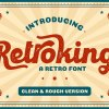 Retroking – Retro Font