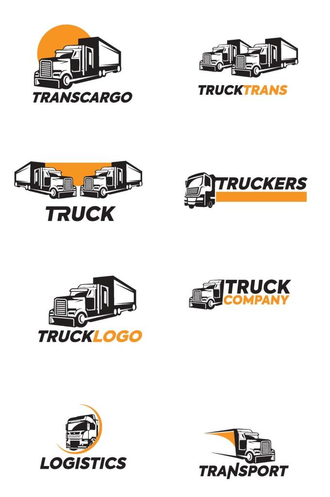 Truck Vector Illustration Logo Bundle 1 scaled
