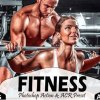 10 Fitness Photoshop Actions, ACR Preset 4444156