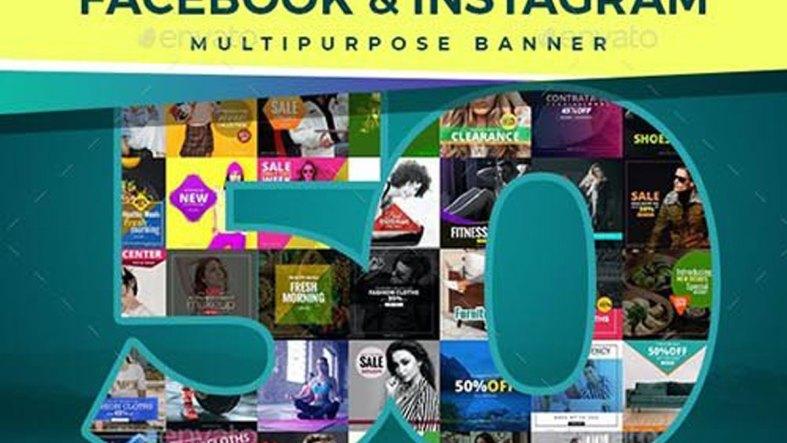 50 Facebook & Instagram Banners 26941240