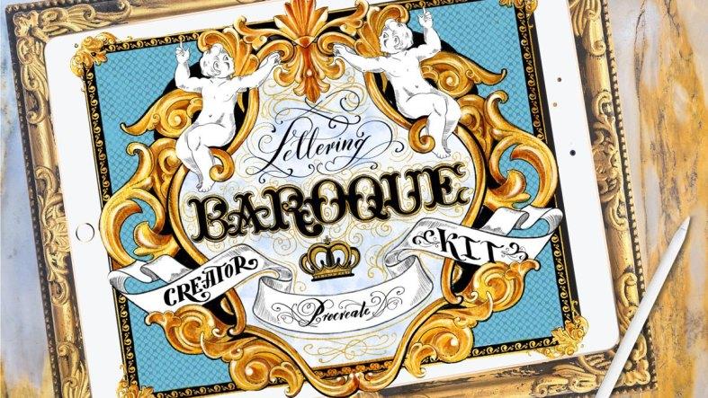 Baroque Lettering Creator Kit 4185029