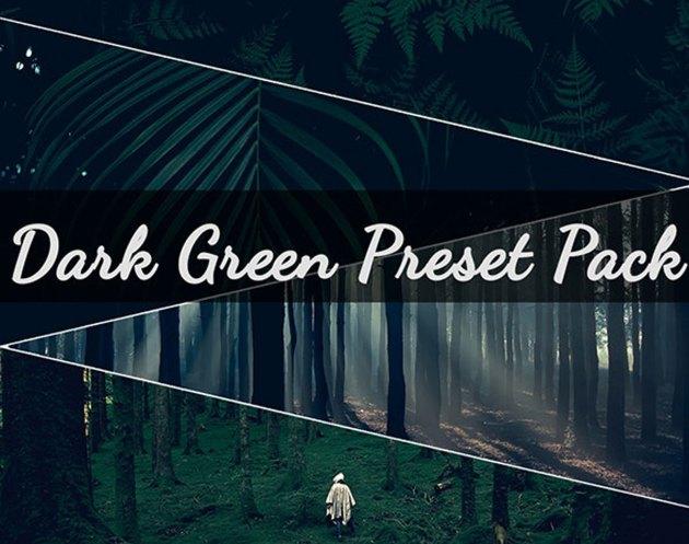 Dark Green Pack 10 Presets 26778128