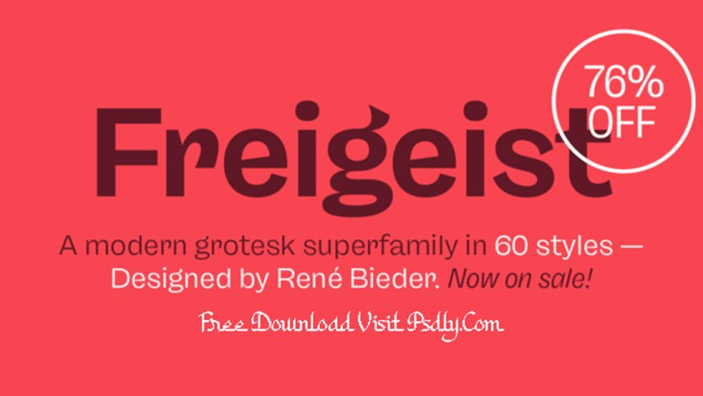 Freigeist Font Family
