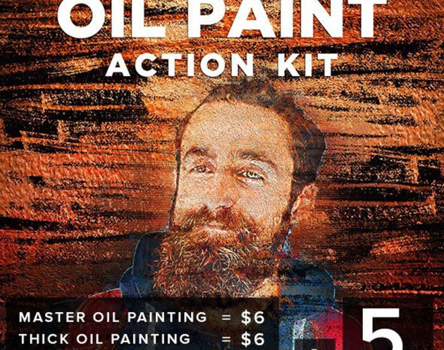 GraphicRiver - Oil Paint Action Kit 26847449