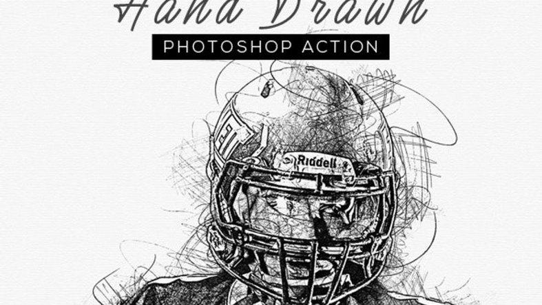 Hand Drawn Photoshop Action 26442003