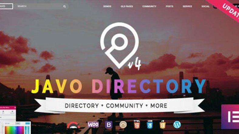 Javo Directory v4.1.6 - WordPress Theme - 8390513
