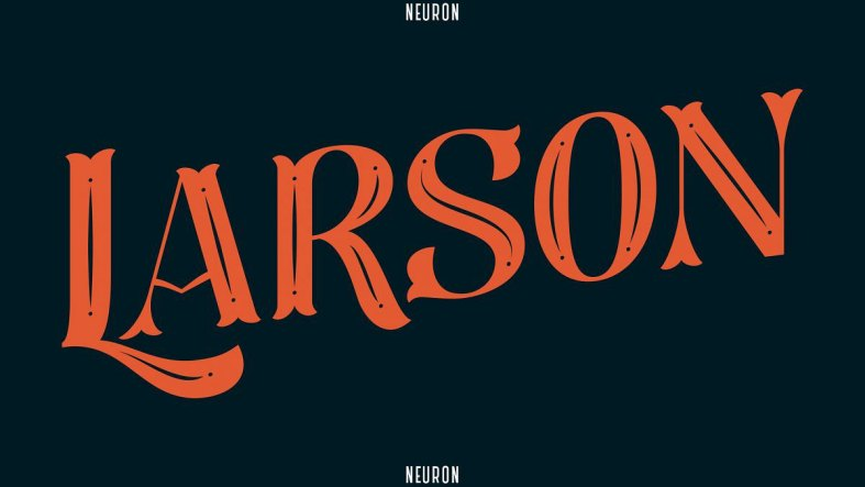 Larson Display Font