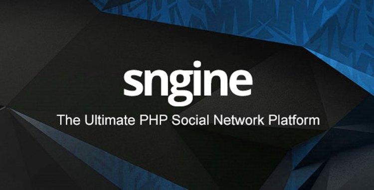 Sngine v2.8 - The Ultimate PHP Social Network Platform - 13526001