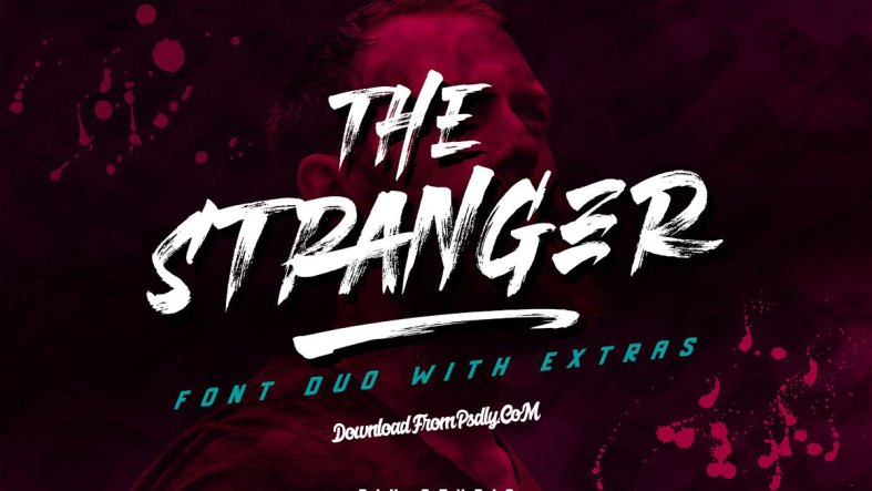 The Stranger - Font Duo Plus Extras