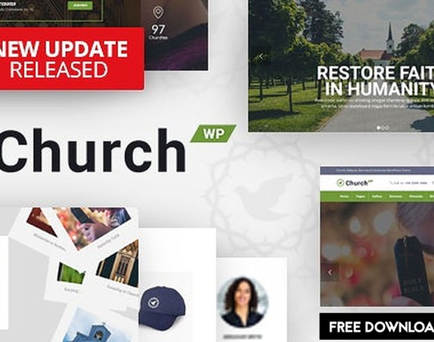 ThemeForest - ChurchWP v1.9.3 - A Contemporary WordPress Theme for Churches - 19128148