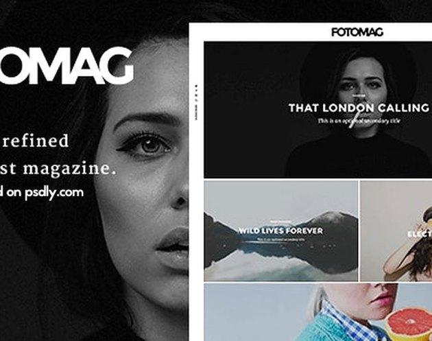 Fotomag v2.0.4 - A Silky Minimalist Blogging Magazine WordPress Theme For Visual Storytelling - 14967021