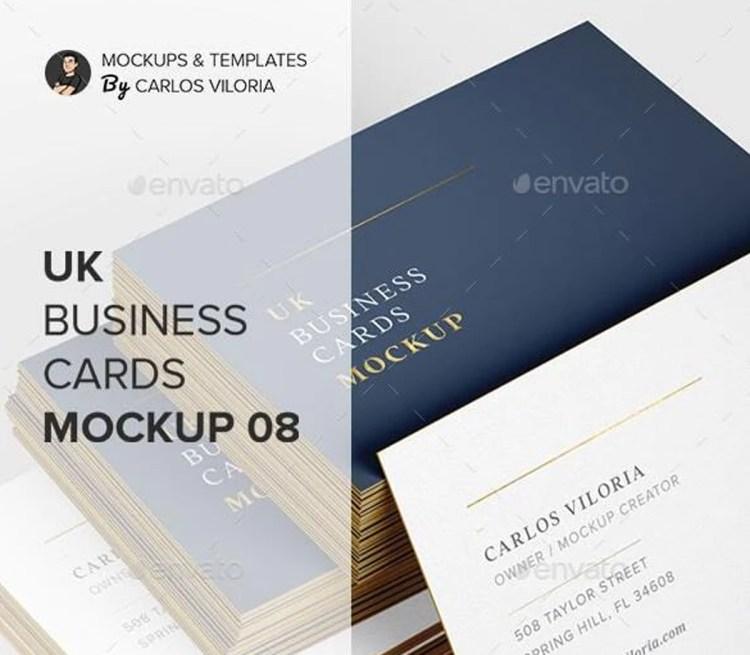 UK Business Cards Mockup 08 27826313