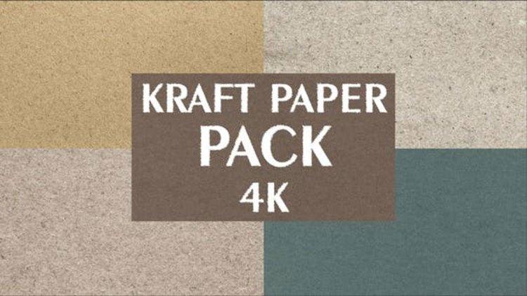 Videohive 4k Kraft Paper Pack 25759832