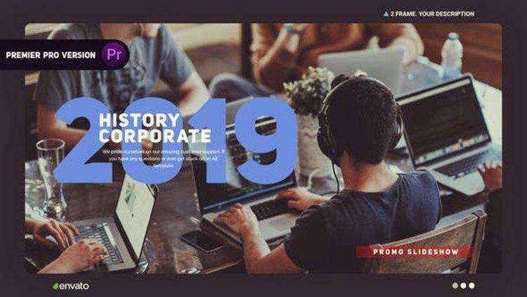 Videohive Corporate History 24653843