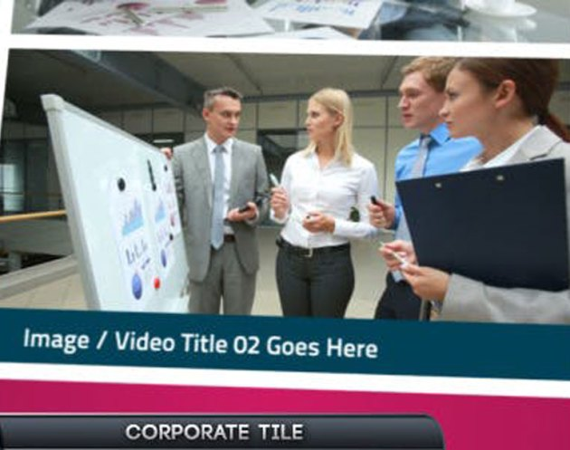 Videohive Corporate Tile Slideshow 4935061
