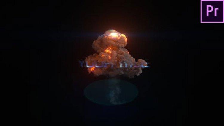 Videohive Explosion Glitch Title 27503181